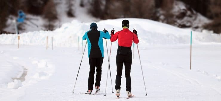 Aka skidor Dalarna