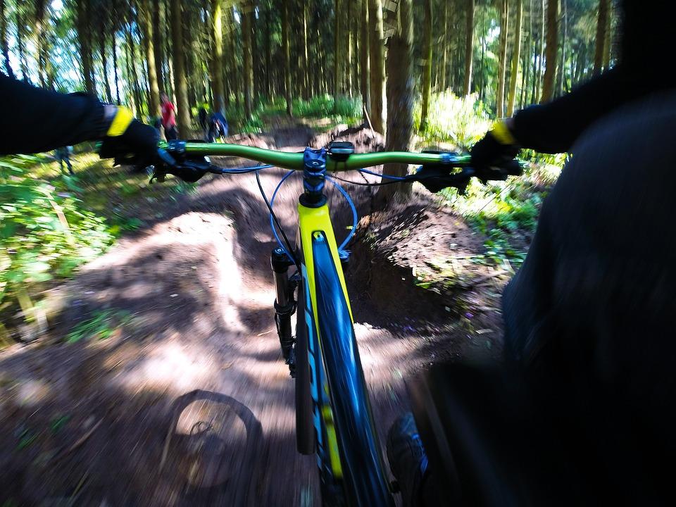 Cykla downhill Falun