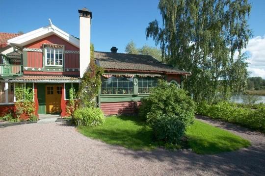 Carl Larsson garden