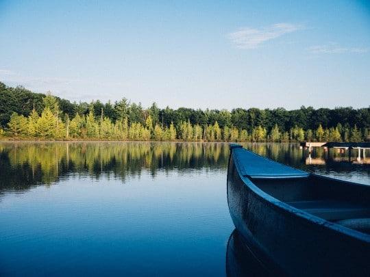 Paddla kanot Dalarna