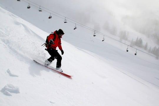 Snowboard i Dalarna